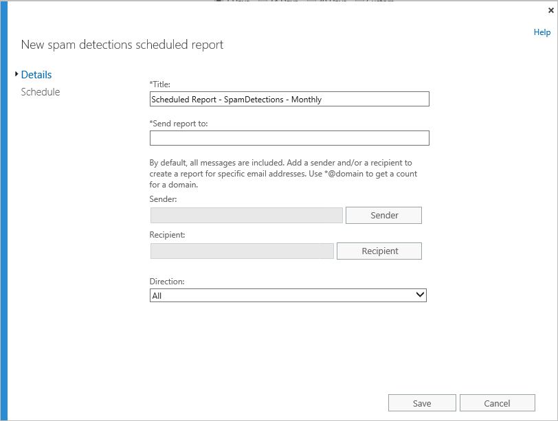 Scheduled reports in Office 365 | Blog