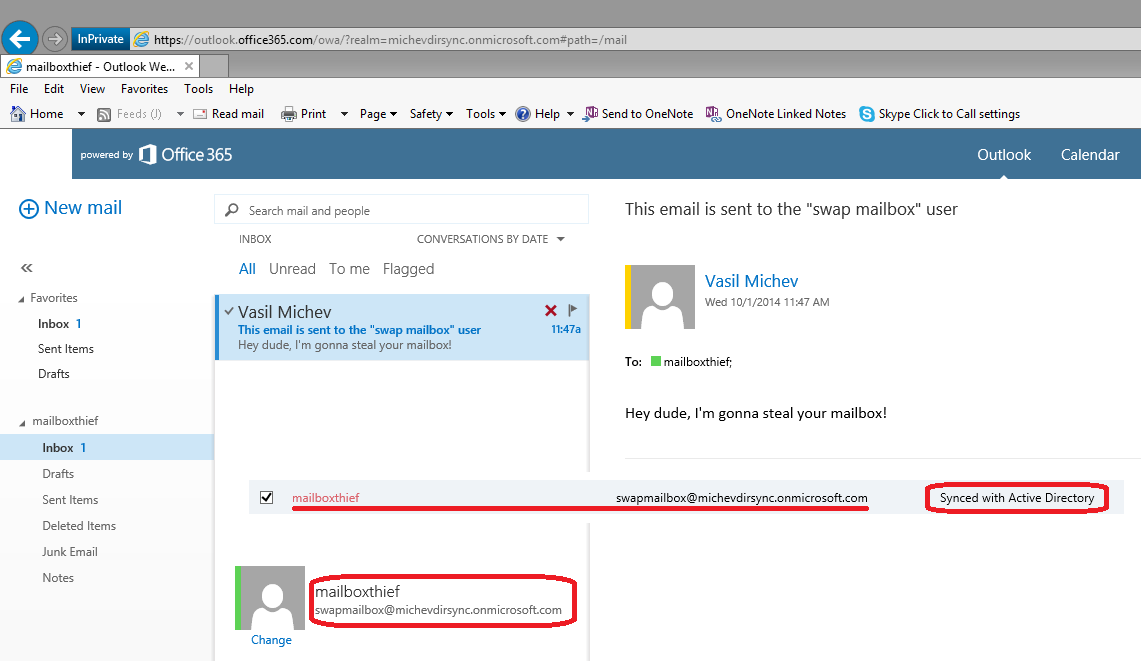 How to assign mailbox to a different user with Exchange