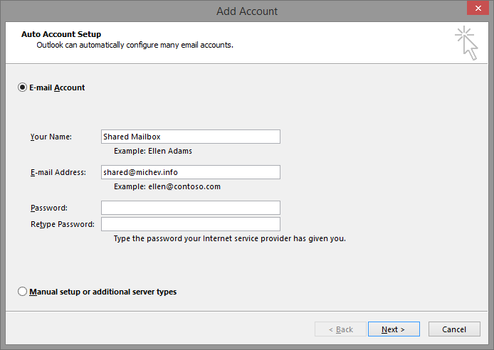 How to add a shared mailbox as additional account in Outlook | Blog
